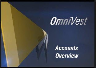 Accounts Page Overview